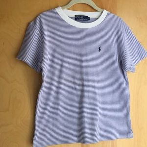 Polo Ralph Lauren lavender striped tee-shirt M